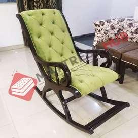 Mattress Hub Brand New Rocking Chair in Solid Wood
