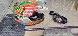 Helm cross MVSTAR + Google Snail