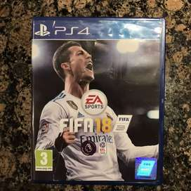 FIFA 18 - PS4 Game for sale or exchange