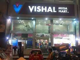 Sales boys and girls required in shopping mall