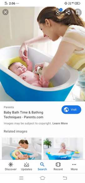 I can give bath for new born babies for 40 or more days