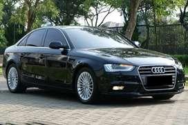 Audi A4 2013 1.8 Hitam Kondisi Mulus Siap Pakai