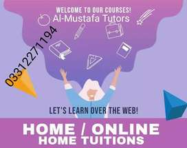 O/A Levels,Language & Short Course-Professional Home & Online Tutors