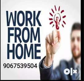 Home based part time job in data entry work from home