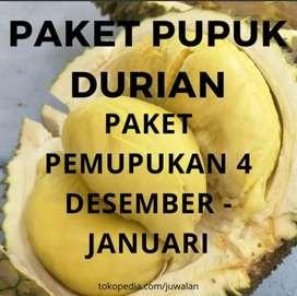 Pupuk Durian Paket 4 Pembungaan