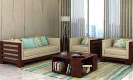 NEW KERALA FURNITURE. WOODEN SOFA SET. FACTORY DIRECT SALE. CALL NOW.
