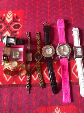 Assorted watches from USA including ring watch!!