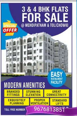 Independent 3bhk flats for sale at Asif nagar Main Road