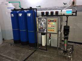 Mineral Water System 2000 LPH Complete