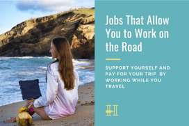 Direct joining Travel work Job for Female only