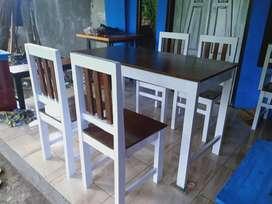 Set meja makan minimalis bigsale