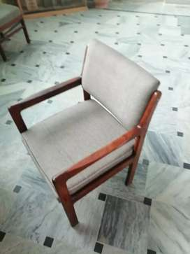 Comfortable office wooden chairs are available