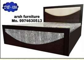 Ad00119 dubbel bed plywood 6x5