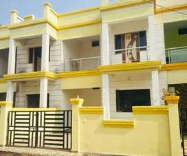 3BHK row house with small in house garden and parking