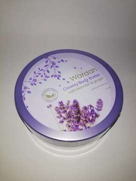 Wardah Creamy Body Butter with lavender and Ginger