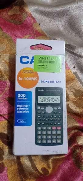 New Fx 100MS scientific calculator (casio)
