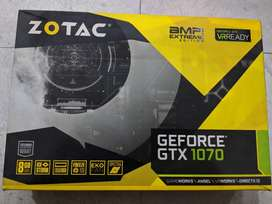 Zotac Nvidea GTX 1070 AMP EXTREME EDITION *URGENT SELL* NEW CONDITION