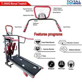 Alat Fitness Treadmill TL-004 Manual 6 Fungsi Termurah LI5