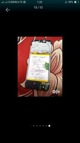 Touch display battery camere oppo a15