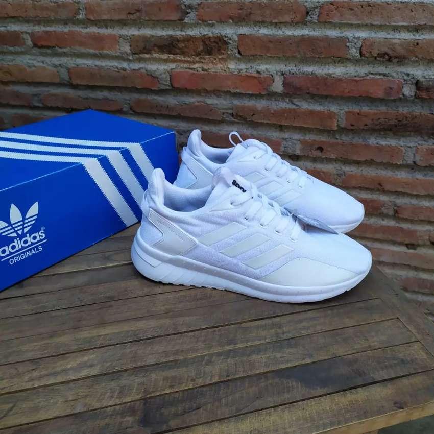 Sepatu ADIDAS QUESTAR RIDE Full White 0