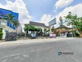 Tanah Pusat Kota 804m2 Sorosutan, Umbulharjo Strategis Tepi Jalan Raya