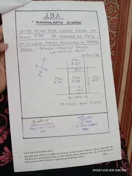 Sale urgent government scheme jda approval