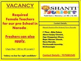 Pre-School teacher Nava Naroda