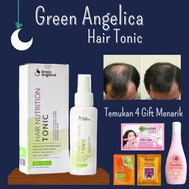 Perawatan Rambut Botak dengan Hair Tonik Green Angelica 100% Original