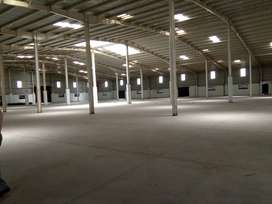 Ready to move warehouse available for rent out.