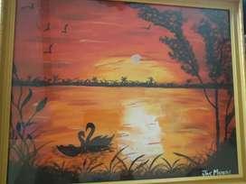 Handmade painting