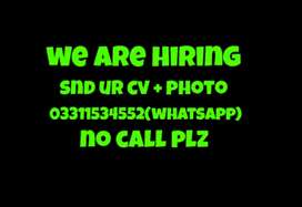 Sales representative female