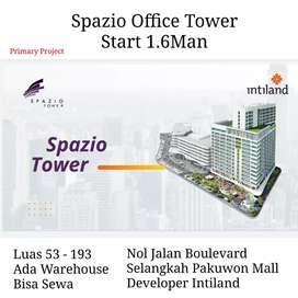 Dijual kantor spazio office tower 1.6M