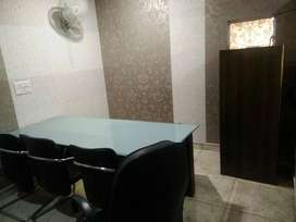 Furnished 300 sqft office space on 3rd floor in chd sec- 34 A