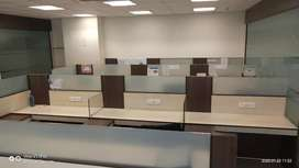 Fully furnished office on rent in Mahape at