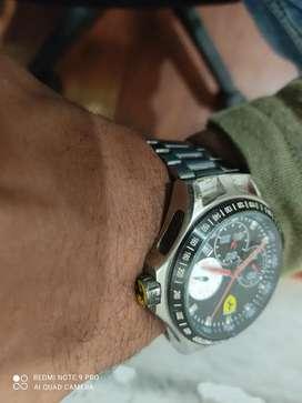 Ferrari watch gently used