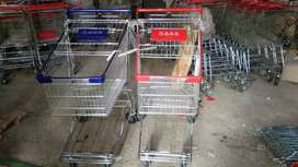 Shopping trolley for mart grocery store Rack cash&carry racks trolley