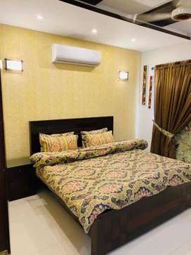 Furnished flat for rent on daily basis one bed