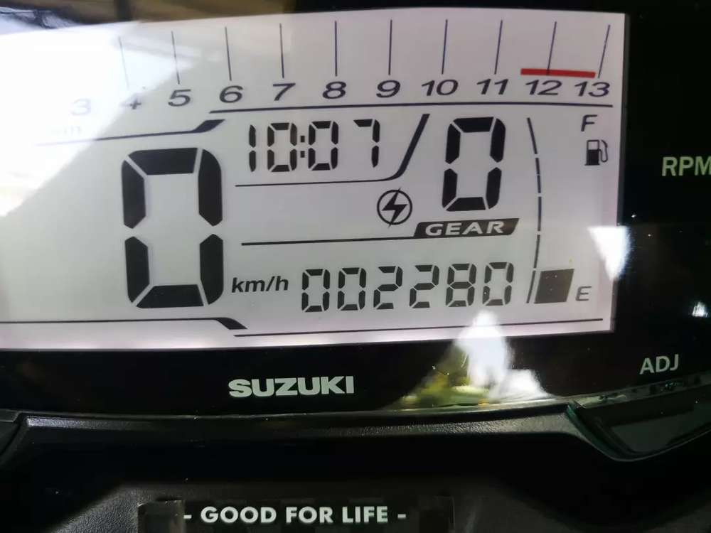 Susuki gsx bandit 150cc fi  2019 istimewa 2000 km
