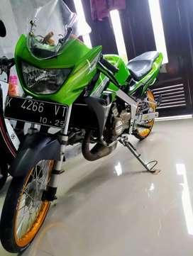 Jual cepat motor Kawasaki ninja r plat k kudus pajak jalan