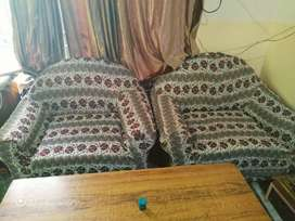 Sofa used for sale only 1 year use