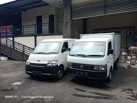 Truck engkel box kirim barang ke jawa/sewa pick up pickup box blindvan