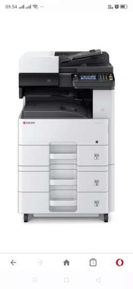 Rental atau sewa dan jual fotocopy baru 100%, garansi 1th
