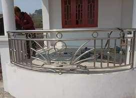Juru pusat pagar stainless steel