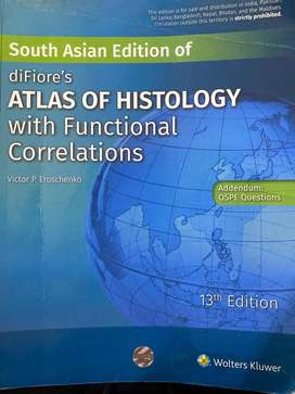 diFiore's Atlas of histology 13th edition