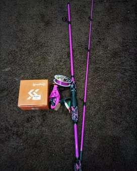 Pancing pink set bisa buat ultralight baru lengkap tinggal pakai