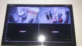 PAKET Kamera CCTV DAHUA 2MP 2 thn GRS Bisa Online HP Gratis Survey