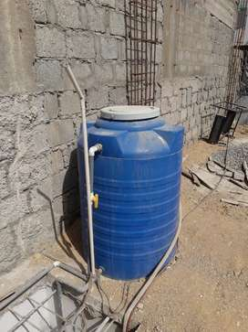 Two water tanks for sale rizvia nazimbad