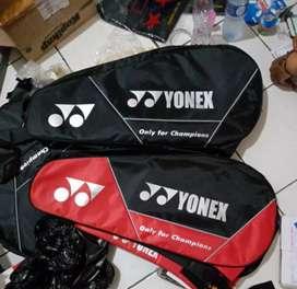 Tas Badminton Yonex 3 Resleting