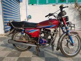 Honda 125 best condition only exchange possible