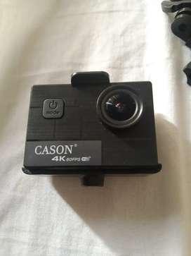 Cason 4k - Gear mountable camera